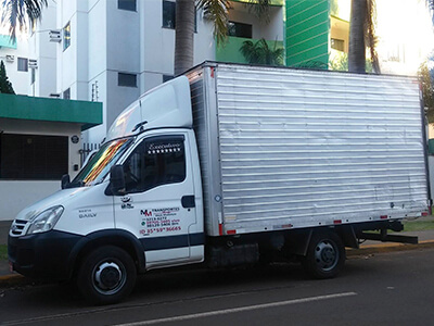 Caminhão de Mudanças em Boituva